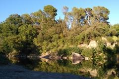 Plage de Mus sur l'Orb - Cazouls-lès-Béziers
