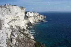 Falaises près de Bonifacio - Corse