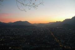 Couche de soleil - Grenoble