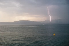 Orage sur le lac Léman