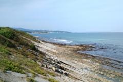 Côte atlantique près d'Hendaye
