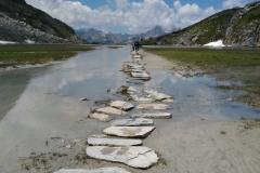 Lac des Vaches  - Col de la Vanoise