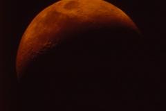 Lune depuis un téléscope