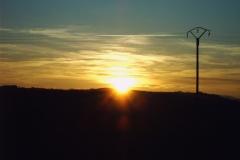 Coucher de soleil - St Léger du Bois